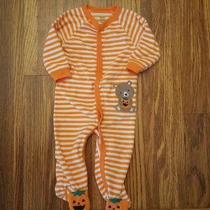 Carter's Halloween Pumpkin Pajamas